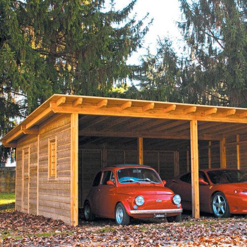 Garage in Legno Prestige